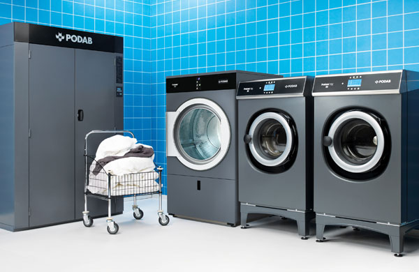 Professional Laundry Equipment from PODAB